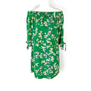 NEW Vince Camuto Floral off the shoulder dress